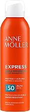 Spray autobronzant - Anne Moller Express Bruma Body Tanning Spray SPF50 — Imagine N1