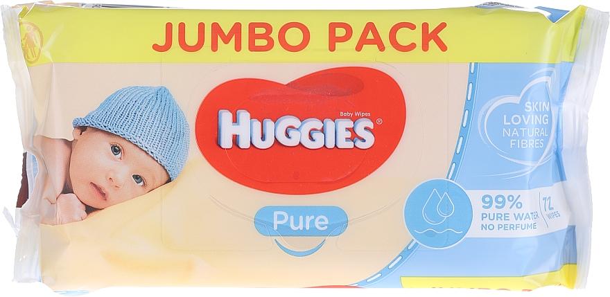 Șervețele umede pentru copii, Pure 72 bucăți - Huggies