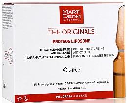 Parfumuri și produse cosmetice Fiole pentru față - Martiderm Liposomes Ampoules Moisturizing and Firming