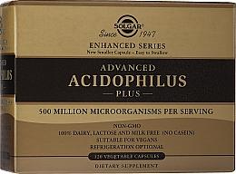 Parfumuri și produse cosmetice Supliment alimentar pentru microflora intestinală - Solgar Advanced Acidophilus Plus Vegetable Capsules