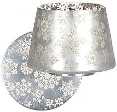 Parfumuri și produse cosmetice Плафон для свечей и поднос - Yankee Candle Snowflake Frost Large
