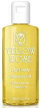 Parfumuri și produse cosmetice Ulei de corp - Yellow Rose Light Body Massage Oil Bitter Orange Blossoms