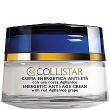 Parfumuri și produse cosmetice Cremă antirid cu extract din struguri - Collistar Energetic Anti-Age Cream with red Aglianico Grape