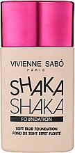 Parfumuri și produse cosmetice Fond de ten, cu efect de estompare naturală - Vivienne Sabo Natural Cover Shaka Shaka Foundation (01)