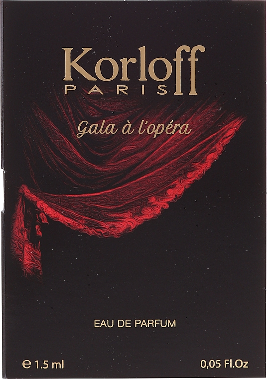 Korloff Paris Gala A L'Opera - Apă de parfum (tester)
