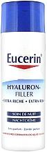Parfumuri și produse cosmetice Cremă antirid de noapte pentru toate tipurile de piele - Eucerin Hyaluron-Filler Extra Riche Night Cream