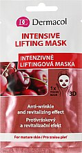 Parfumuri și produse cosmetice Masca folie de față - Dermacol 3D Inzensive Lifting Mask