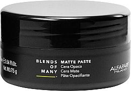 Parfumuri și produse cosmetice Pastă matifiantă pentru păr, fixare medie - Alfaparf Milano Blends Of Many Matte Paste