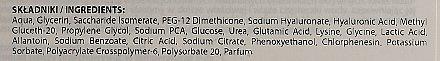 Mască cu acid hialuronic pentru față - Biodermic Hyaluronic Mask — Imagine N2
