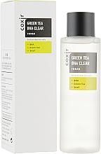 Parfumuri și produse cosmetice Toner pentru față - Coxir Green Tea BHA BHA Clear Toner