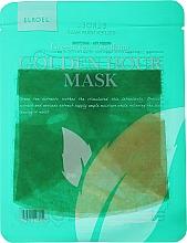Parfumuri și produse cosmetice Mască calmantă din țesătură pentru față - Elroel Golden Hour Mask Green Tea Soothing