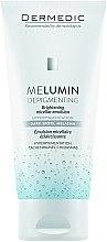 Parfumuri și produse cosmetice Emulsie micelară pentru față - Dermedic MeLumin Depigmenting Micellar Emulsion