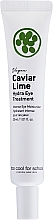 Parfumuri și produse cosmetice Cremă hidratantă cu lime pentru zona ochilor - Too Cool For School Caviar Lime Hydra Eye Treatment