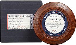 Духи, Парфюмерия, косметика Bath House Spanish Fig and Nutmeg - Мыло для бритья