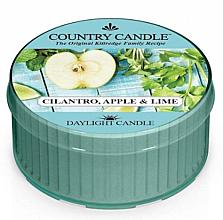 Parfumuri și produse cosmetice Lumânare aromatică - Kringle Candle Cilantro, Apple & Lime