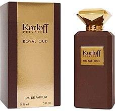 Parfumuri și produse cosmetice Korloff Paris Royal Oud - Apă de parfum (tester cu capac)