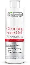 Parfumuri și produse cosmetice Gel exfoliant - Bielenda Professional Exfoliation Face Program Cleansing Face Gel