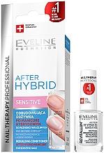 Parfumuri și produse cosmetice Tratament regenerant pentru unghii - Eveline Cosmetics After Hybrid Rebuilding Conditioner