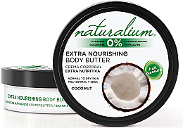 Parfumuri și produse cosmetice Ulei pentru corp - Naturalium Coconut Extra Nourishing Body Butter