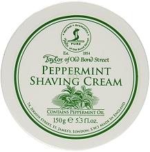 """Parfumuri și produse cosmetice Cremă de ras """"Mentă"""" - Taylor of Old Bond Street Shaving Cream"""