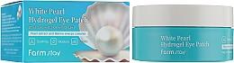 Parfumuri și produse cosmetice Patch-uri de hidrogel cu extract de perle - FarmStay White Pearl Hydrogel Eye Patch
