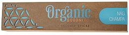 Parfumuri și produse cosmetice Bețișoare aromatice - Song Of India Organic Goodness Nag Champa