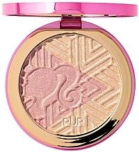 Parfumuri și produse cosmetice Iluminator - Pur X Barbie Confident Glow Signature Illuminating Highlighter