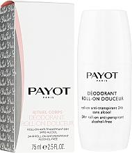 Parfumuri și produse cosmetice Deodorant roll-on - Payot Le Corps Deodorant Ultra Douceur Alcohol Free Roll On Deodorant