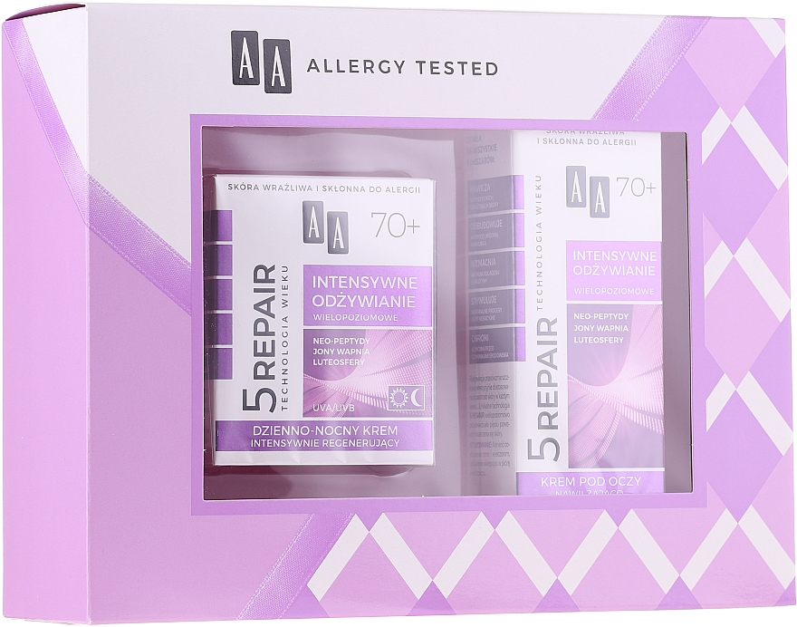 Set - AA Age Technology 5 Repair 70+ (f/cr/50ml + eye/cr/15ml)