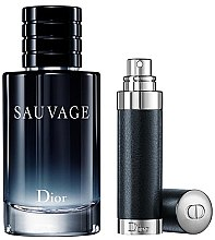 Parfumuri și produse cosmetice Christian Dior Sauvage - Set (edt 100ml + edt/refil 7.5ml)