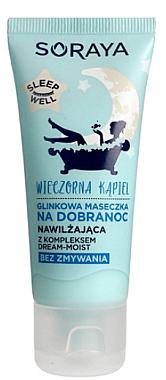 Mască hidratantă cu argilă albă pentru față - Soraya Sleep Well
