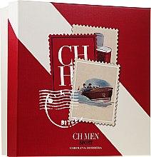 Parfumuri și produse cosmetice Carolina Herrera CH Men Sport - Set (edt/50ml + a/sh/balm/100ml)