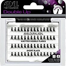 Parfumuri și produse cosmetice Extensii gene - Ardell Duralash Knotted Double Flares Short Black