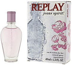 Parfumuri și produse cosmetice Replay Jeans Spirit! For Her - Apă de toaletă