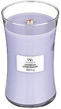 Parfumuri și produse cosmetice Lumânare aromată - WoodWick Hourglass Candle Lavender Spa
