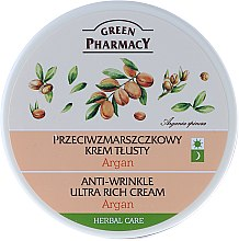 """Parfumuri și produse cosmetice Cremă de față ultra-nutritivă """"Argan"""" - Green Pharmacy Anti-Wrinkle Ultra Rich Cream"""