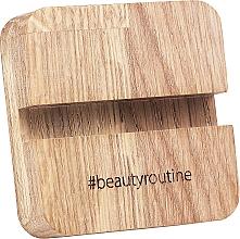 Parfumuri și produse cosmetice Suport din lemn pentru telefon - MiaCalnea Oakis Phone Stand