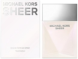 Michael Kors Sheer 2017 - Apă de parfum — Imagine N1