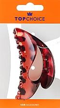 Parfumuri și produse cosmetice Agrafă de păr, 25556, roșie - Top Choice
