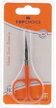 Parfumuri și produse cosmetice Foarfece pentru cuticulă 77661, orange - Top Choice Colours