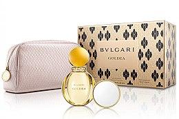 Parfumuri și produse cosmetice Bvlgari Goldea - Set (edp/90ml + bag + mirror)