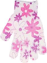 Parfumuri și produse cosmetice Burete-mănușă de duș, 30512, multicolor - Top Choice
