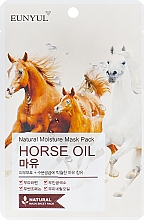 Parfumuri și produse cosmetice Mască pe bază de ulei de cal - Eunyul Horse Oil Mask Pack