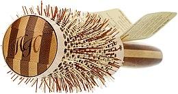 Perie rotundă de păr, d.43 - Olivia Garden Healthy Hair Eco-Friendly Bamboo Brush — Imagine N2