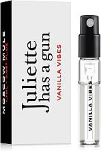 Parfumuri și produse cosmetice Juliette Has A Gun Vanilla Vibes - Apă de parfum (mostră)