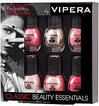 Parfumuri și produse cosmetice Set lacuri - Vipera Chic Classic Beauty (n/pol/5,5mlx6) (05)