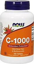 Parfumuri și produse cosmetice Vitamina C-1000 - Now Foods c-1000 With Rose Hips & Bioflavonoids