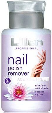 Soluție fără acetonă pentru îndepărtarea ojei - Lilien Nail Polish Remover