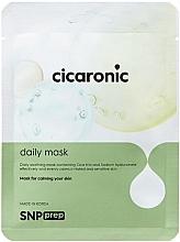 Parfumuri și produse cosmetice Mască calmantă din țesut pentru față - SNP Prep Cicaronic Daily Mask