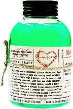 """Parfumuri și produse cosmetice Spumă de baie """"Bambus și Mentă"""" - The Secret Soap Store Bath Foam Bamboo With Peppermint"""